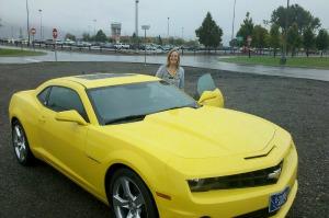 Kim Woodahl Yellow Dream Car