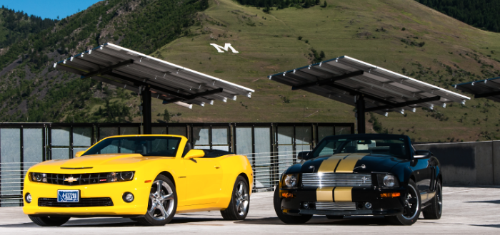 Looking for a sporty ride? Look no further than Hertz Rent-a-Car!