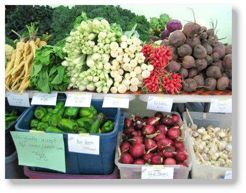 Farmers' market in Missoula Montana